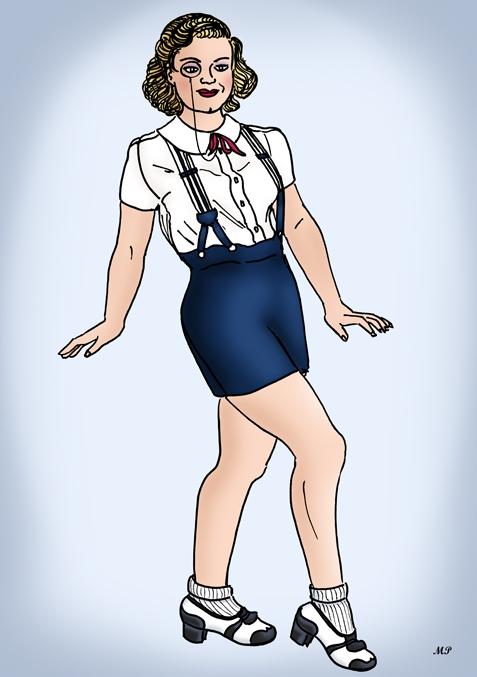 Ginger Rogers par MP69